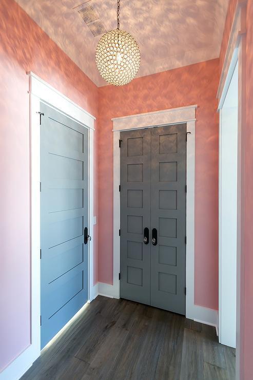 Light Pink Girl Bedroom Walls Design Ideas