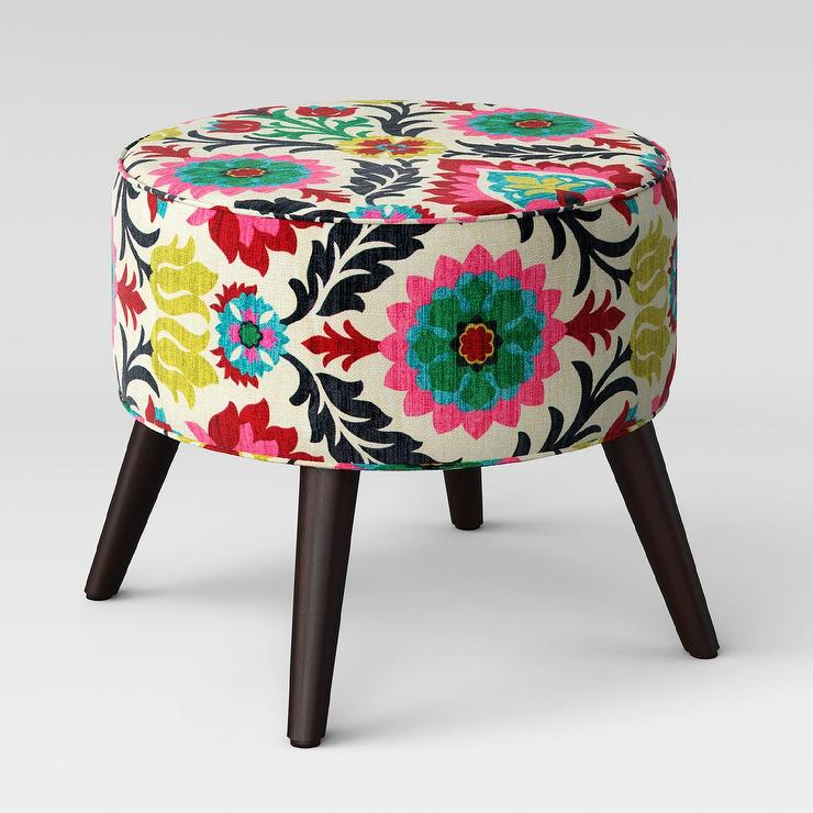 riverplace multicolored round floral