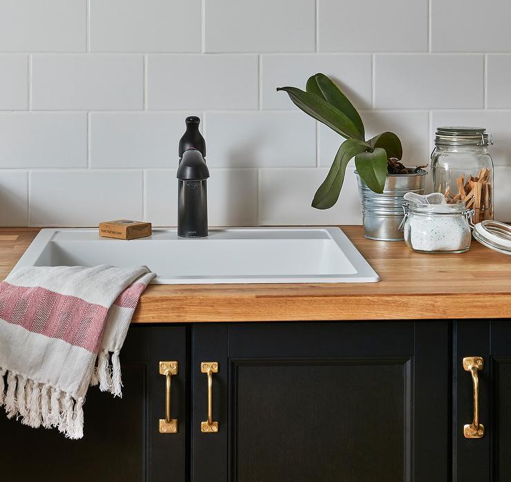 white overmount laundry sink
