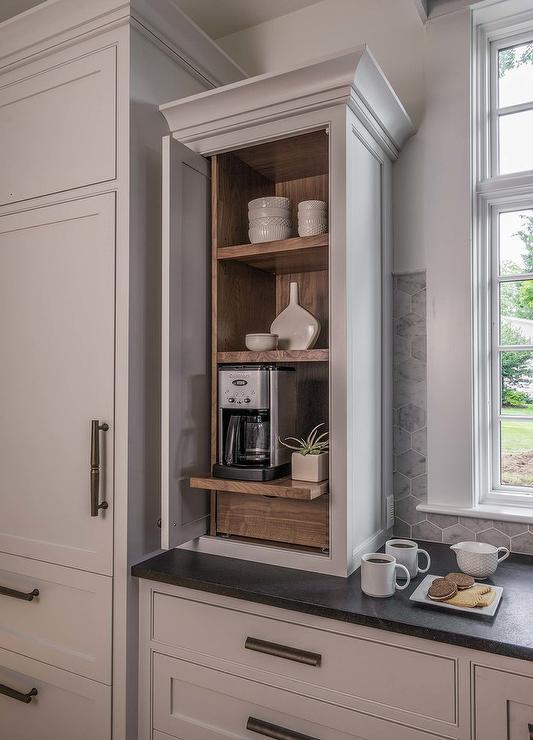Wood Paneled Refrigerator And Freezer Drawers Cottage