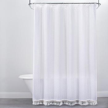 parachute turkish shower curtain look