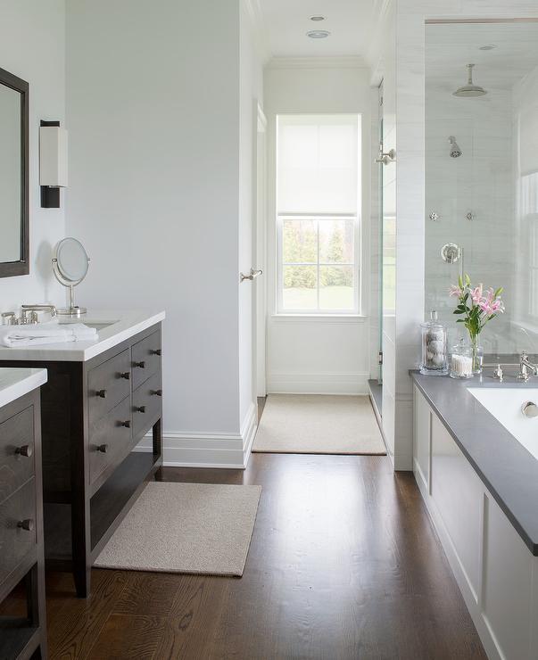 dark brown shower tiles design ideas