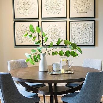 Round Jute Dining Room Rug Design Ideas