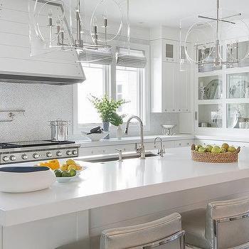 Acrylic Box Light Kitchen Island Pendants Design Ideas