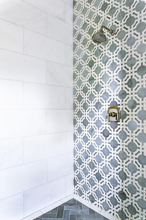 shower accent wall design ideas
