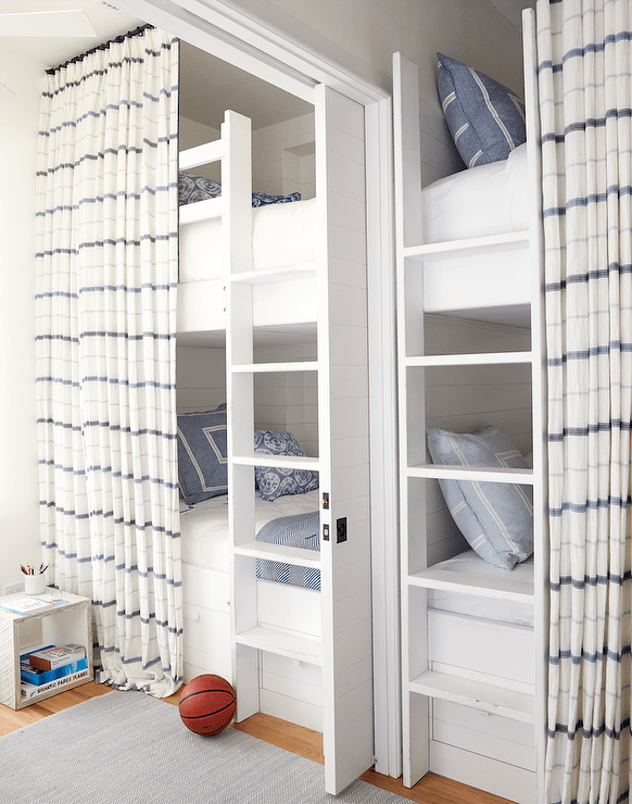 bunk bed privacy curtains design ideas