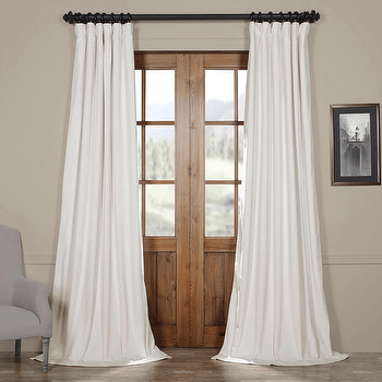 curtains look 4 less and steals and