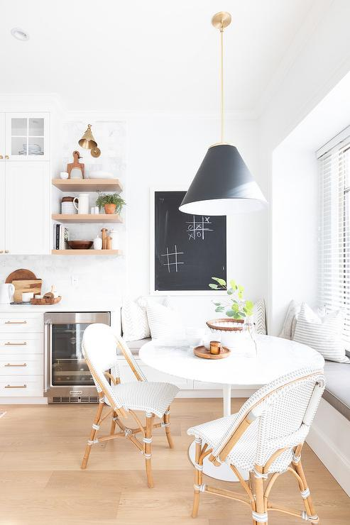 ikea docksta table with french bistro