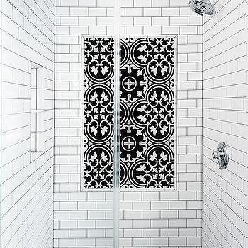 black and white cement tiles design ideas