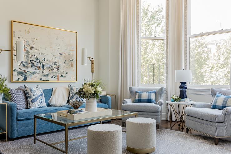 sconces over sofa design ideas