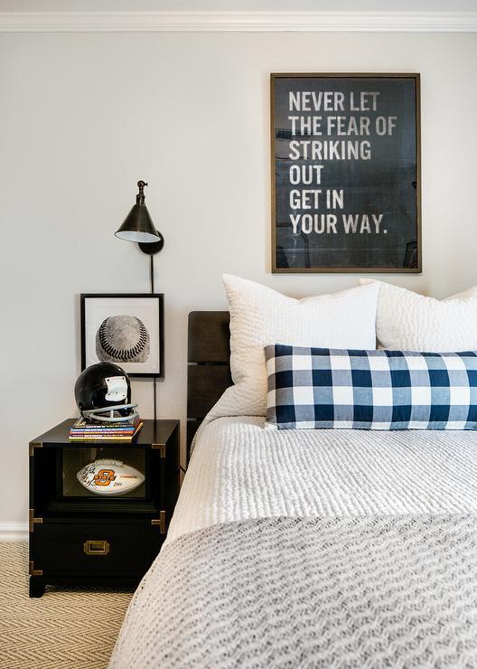baseball themed kids bedroom design ideas