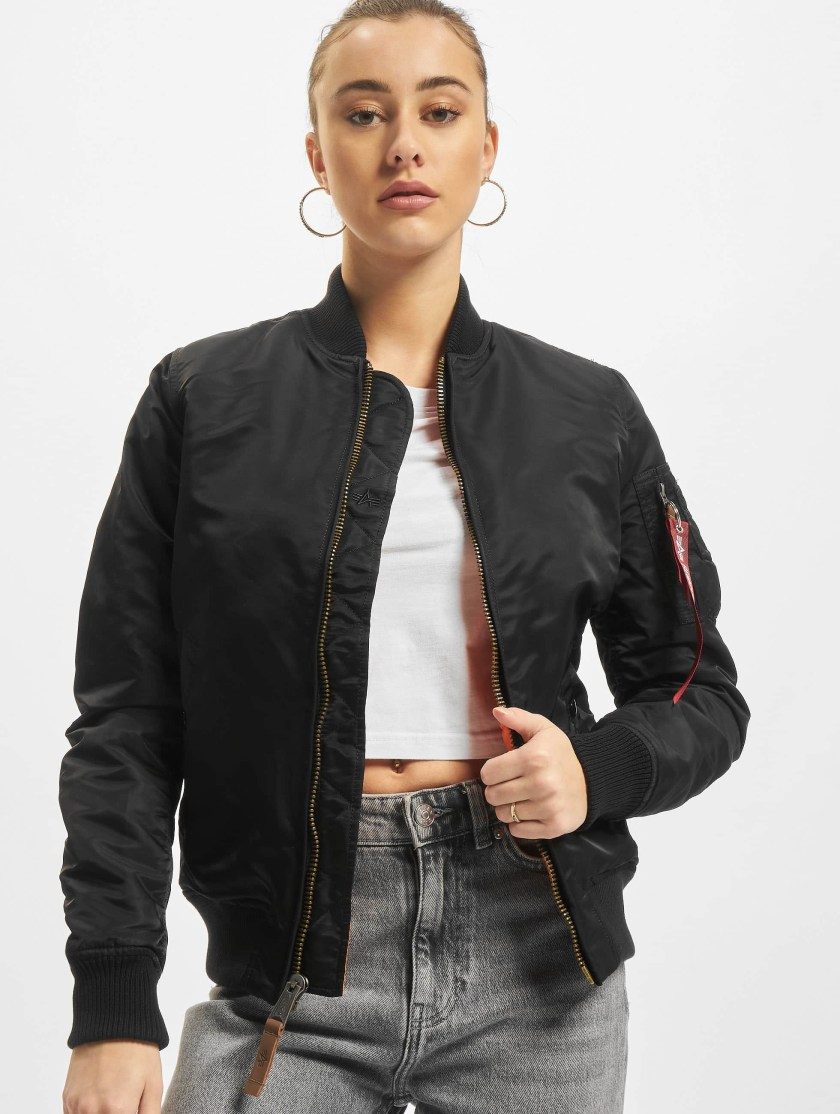 Alpha Industries Ma 1 VF 59 Women Jacket Black