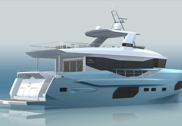 22xp Hull #5 72' Numarine 2022