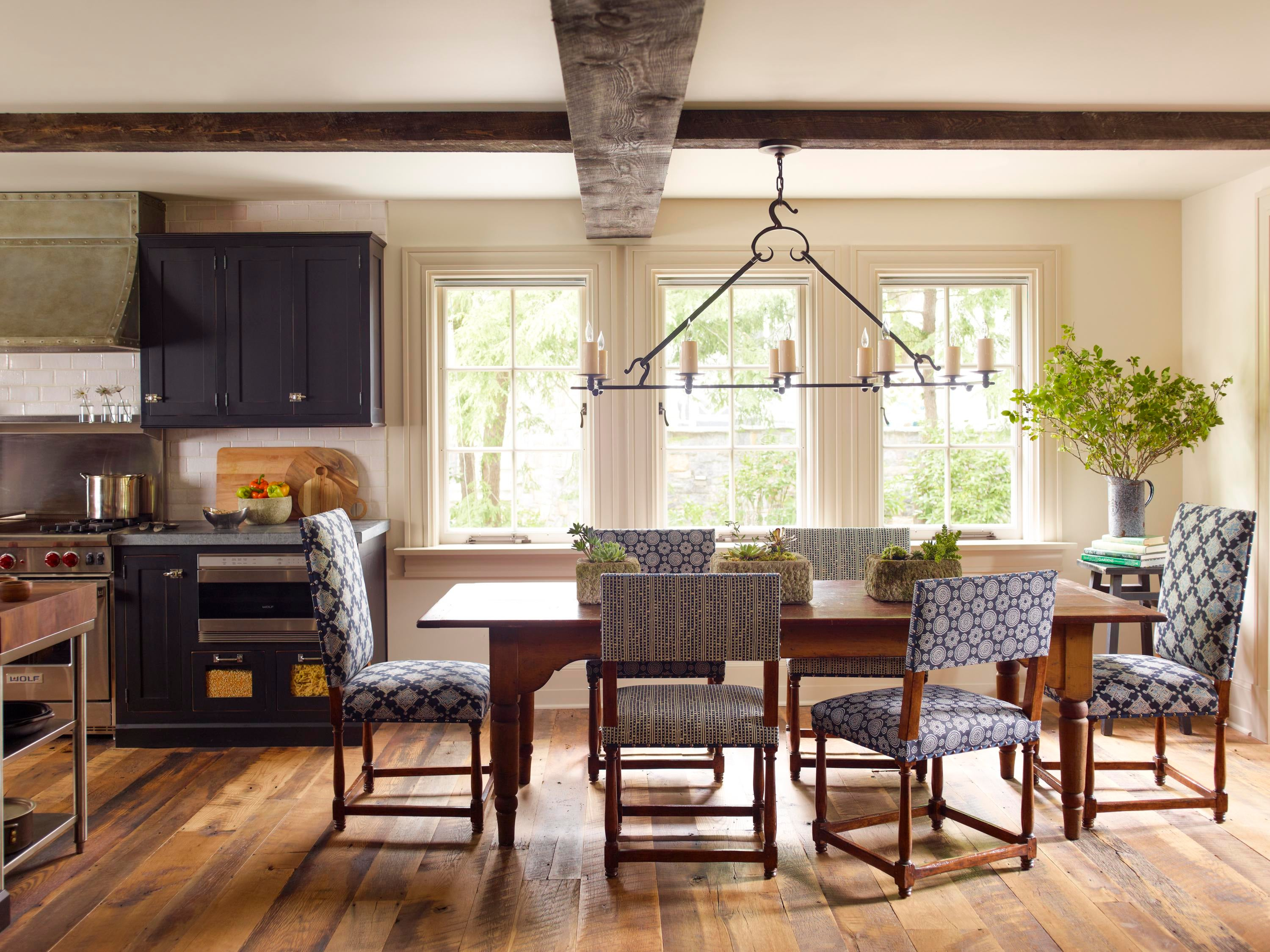 Tuscan Style Spaces Inspiration Dering Hall