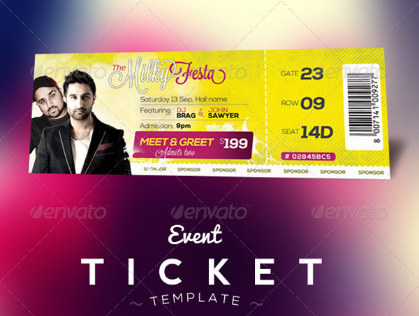 Free Templates For Tickets event ticket template templates for – How to Make Tickets for an Event Free
