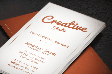 55 Best PSD Business Card Templates  DesignBump business card psd template 055
