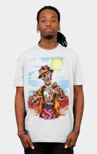 Dead Holiday Shirt This poor guys just want to have a vacation, but he gets more than that.