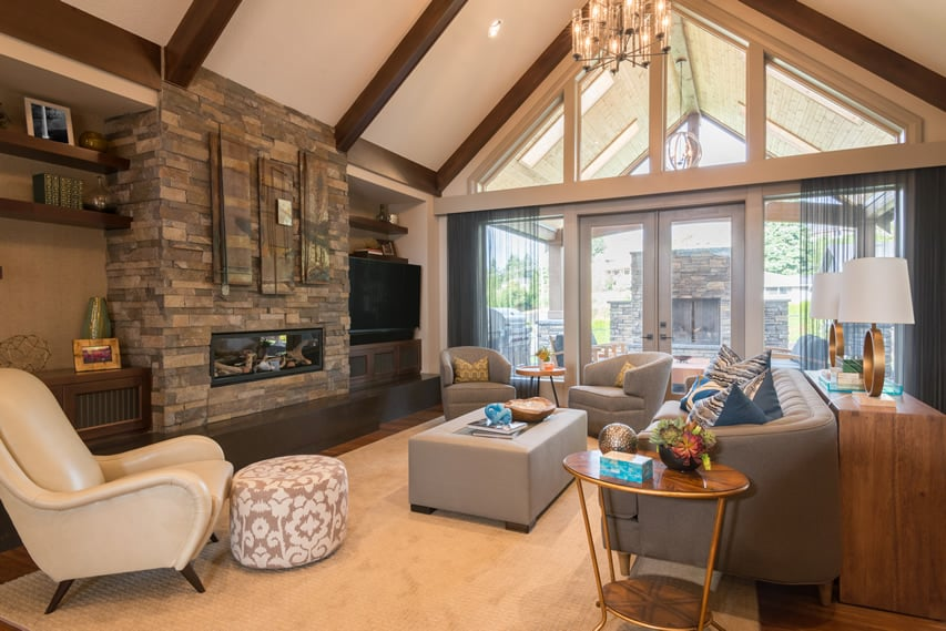 Image Result For Designing A Living Room With A Fireplace And Tv