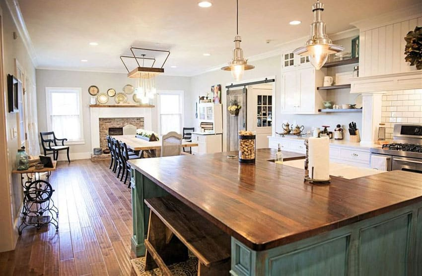 26 Farmhouse Kitchen Ideas Decor Amp Design Pictures Designing Idea