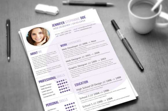 resume that will get noticed using this professional resume template