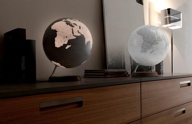 The Earth Globe Lamp