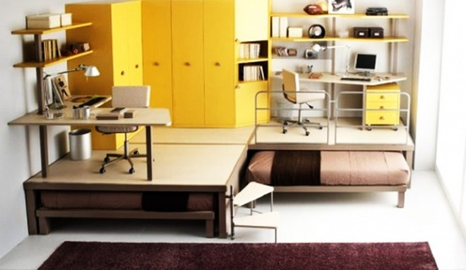 Compact Furniture For A Small Sized Kids Room
