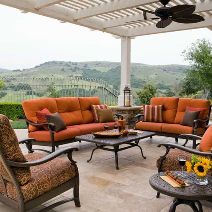 Elegant Outdoor Furniture For Stylish Terrace Design