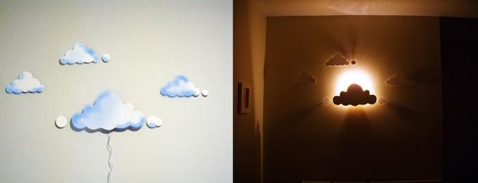 DIY Clouds Night Light