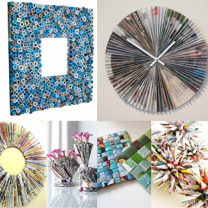 Repurpose old Magazines & Newspapers | ecogreenlove