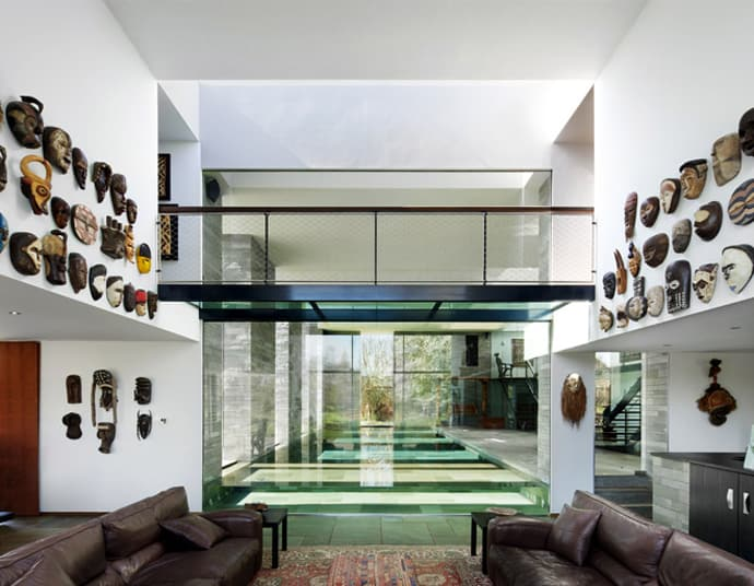 Modern Home Design With African Influences