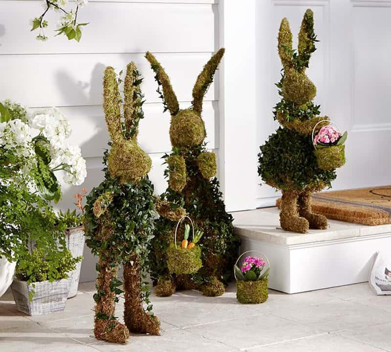 20 Outdoor Indoor Green Easter Decorations