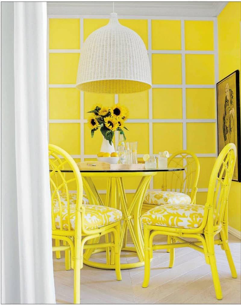 30 Gorgeous Yellow Interior Design Ideas