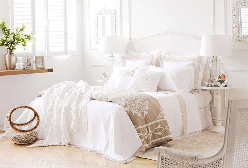 Exquisite Beddings For Romantic Rooms By Zara Home