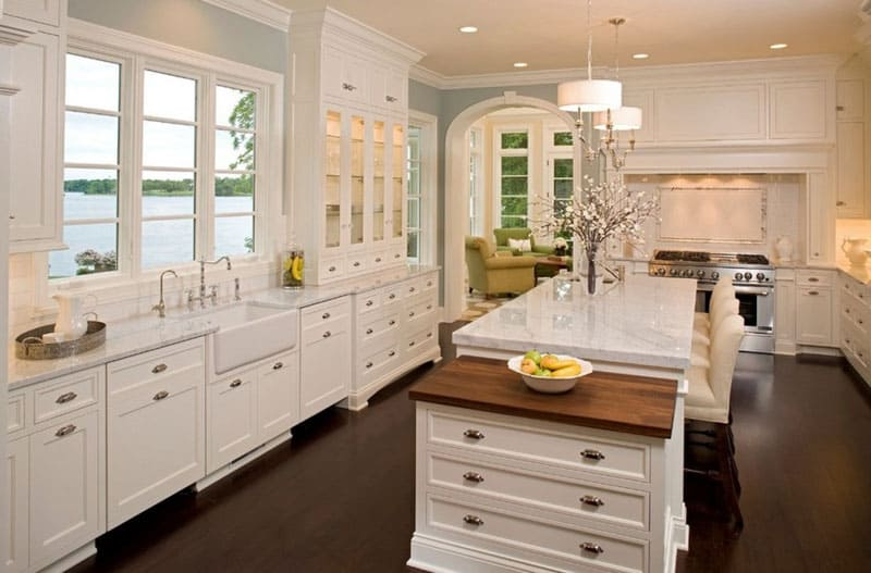 40 Kitchens With Large Or Floor-To-Ceiling Windows