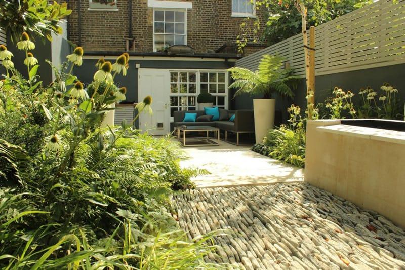 Barnsbury Townhouse Garden In London England