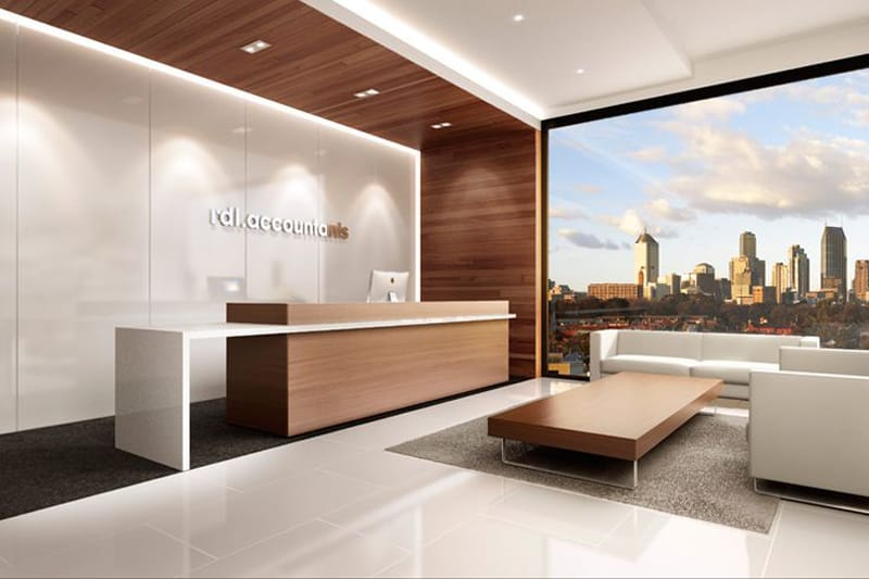 33 Reception Desks Featuring Interesting And Intriguing