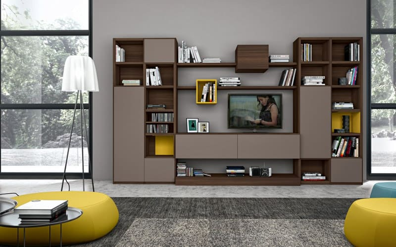 30 Modern Living Room Wall Units Ideas That Everyone