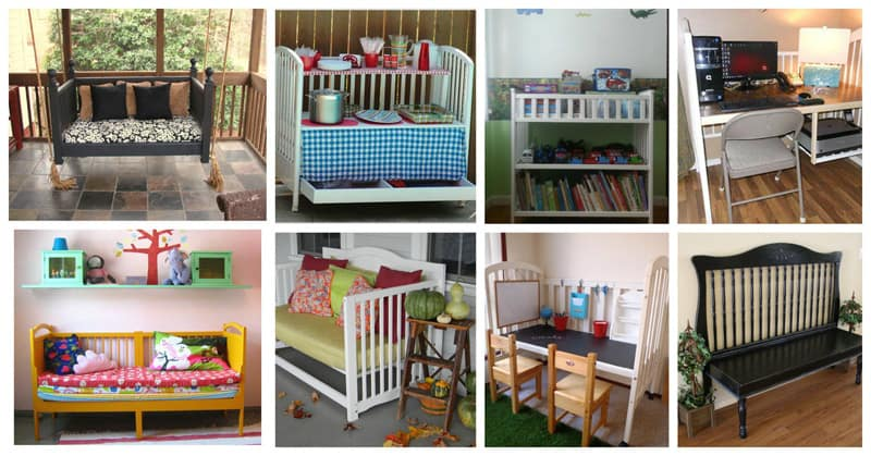Repurposing Old Baby Bed And Nursery Furniture