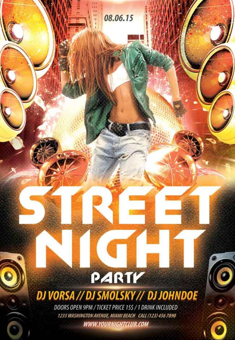 Street-night-party-PSD-Flyer