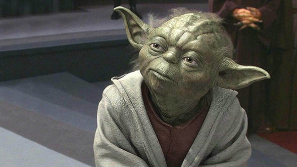 Be a Yoda, Not a Grinch