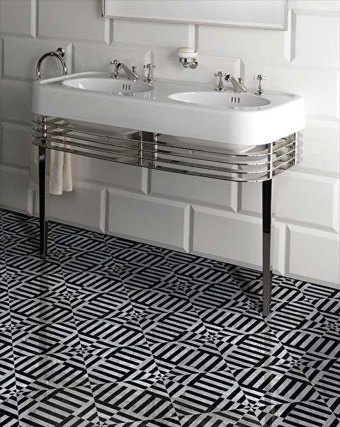 flooring in stoneware marble wood and