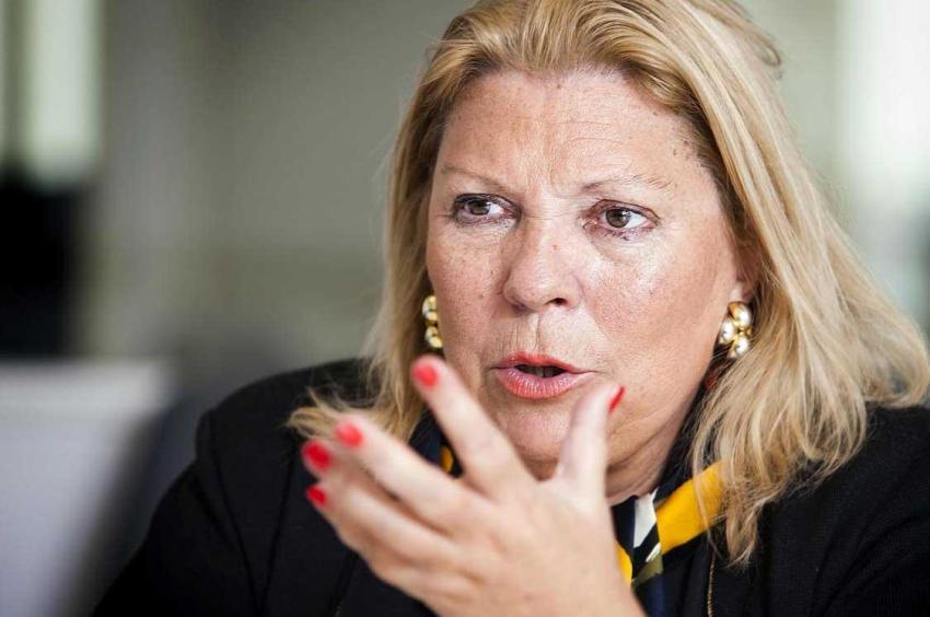 Carrió apunto a las maniobras ocultas del gobierno de Macri para direccionar causas