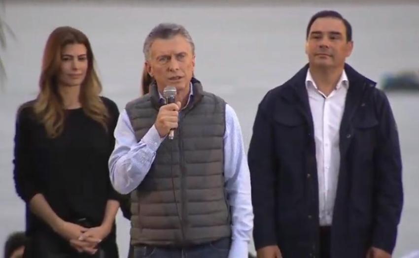 """Macri, en Corrientes: """"Sueño con una Argentina con un futuro mejor para todos"""""""