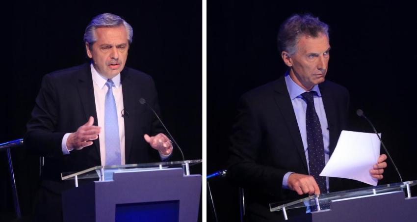 Tras debate, así continúan las agendas de Macri y Alberto Fernández en último tramo de campaña