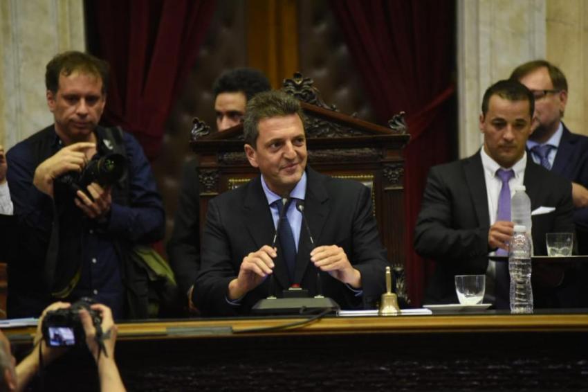 Diputados: juraron 130 nuevos legisladores y Sergio Massa como presidente de la cámara