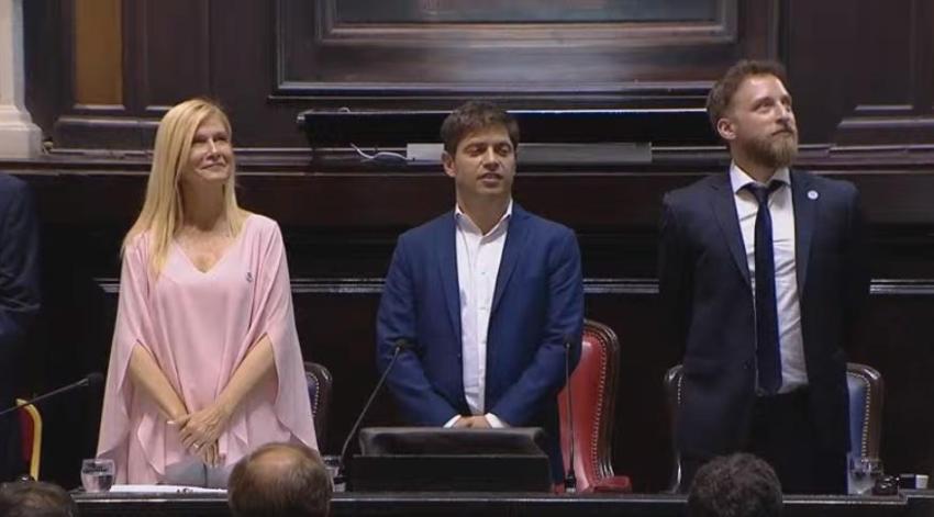 Kicillof da inicio a las sesiones ordinarias en la Legislatura bonaerense