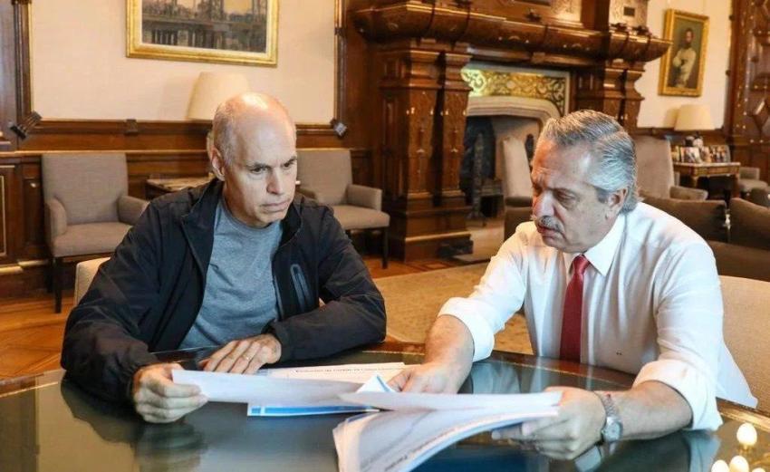 Alberto Fernández se reunirá con Rodríguez Larreta por las clases presenciales este viernes a las 10