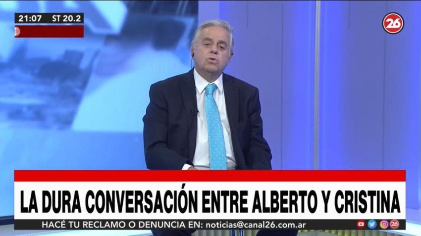 "Alberto Fernández a Cristina Kirchner: ""Si es necesario me voy"""