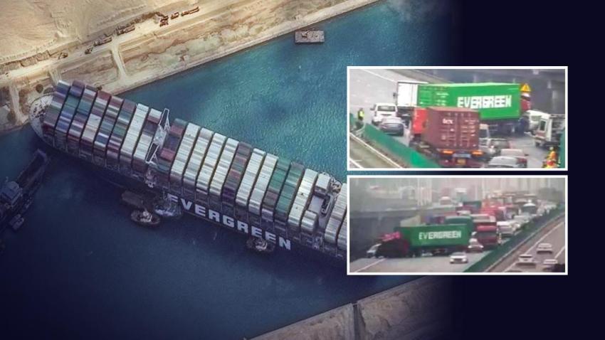 Primero un buque y luego un camión: ¿Qué hay detrás de los