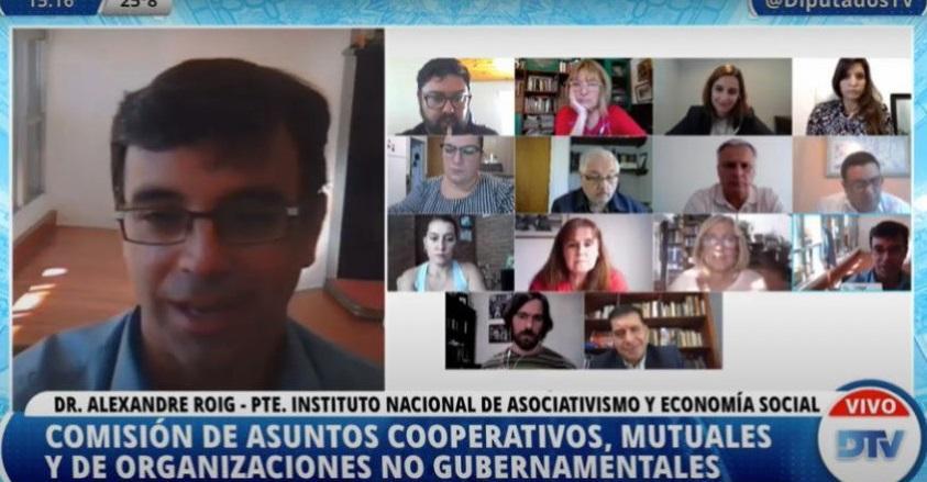 Alexandre Roig, titular del INAES, señaló que buscará promover las cooperativas de consumo